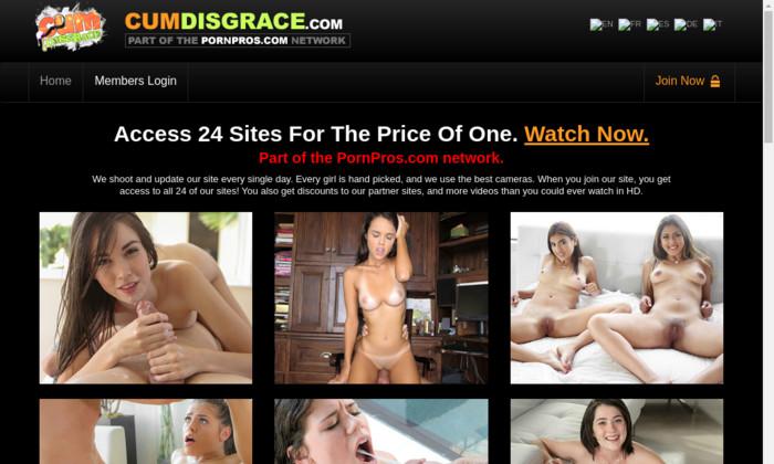 cumdisgrace.com