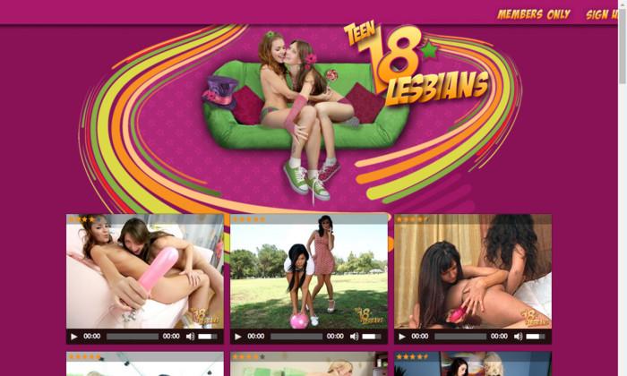 teen18lesbians.com