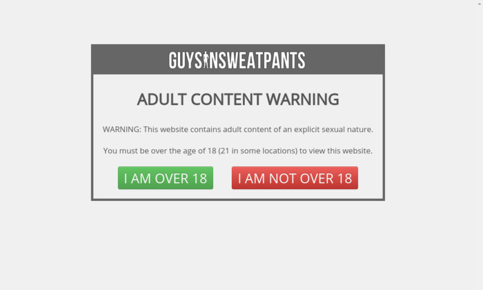 guysinsweatpants.com