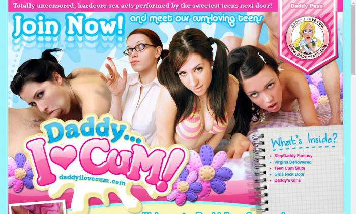 daddyilovecum.com