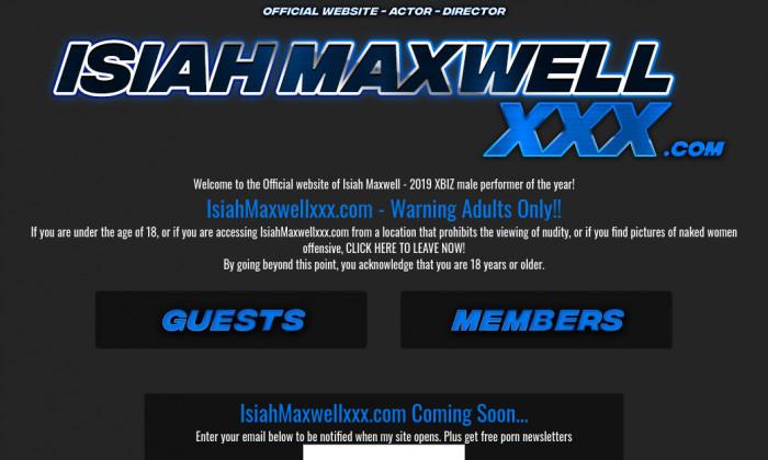 isiahmaxwellxxx.com