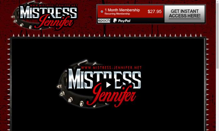 mistressjennifer.com