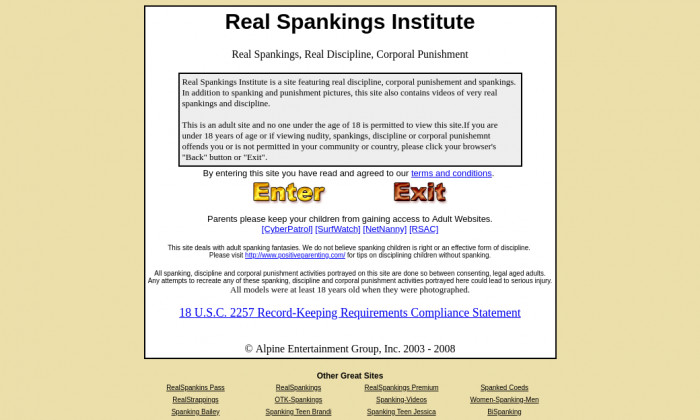 realspankingsinstitute.com