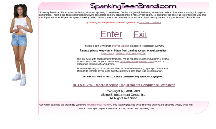 spankingteenbrandi.com