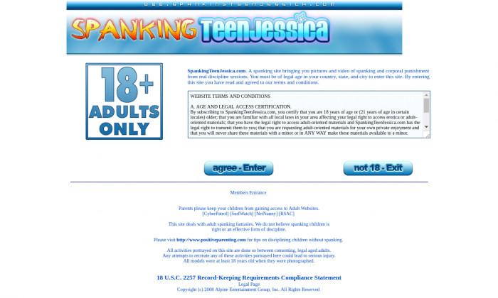 spankingteenjessica.com
