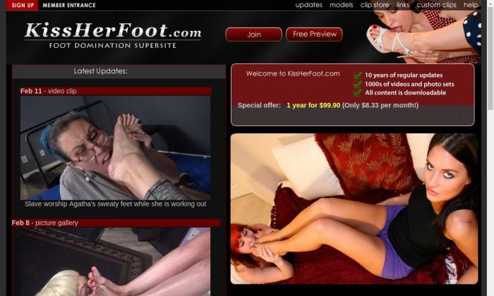 kissherfoot.com
